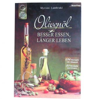 Buch - Olivenöl - Besser essen, länger leben