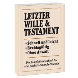 Buch: Letzter Wille & Testament
