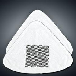 Ersatz-Reinigungstücher 2tlg., grob, für Clean Maxx Green XL
