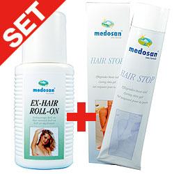Set Ex-Hair: Roll-on plus Pflege-Gel