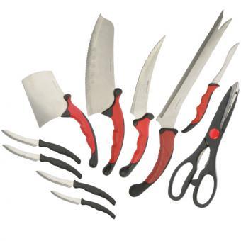 "Messerset ""Contour Pro Knives"" 10 tlg."