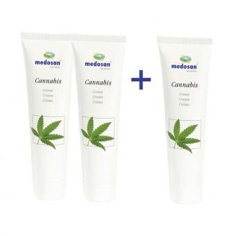 Aktion 3 für 2 CBD Cannabis Creme, 100 ml