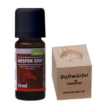 Set Duftwürfel mit Wespenstop, 10 ml