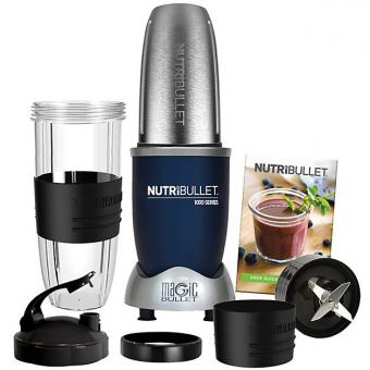 NutriBullet 1000 Series - Set de 9 pièces - Navy Blue
