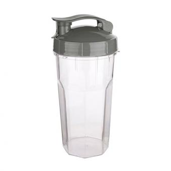 To Go Becher (grau) 0,6 L