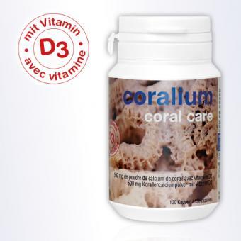 Coralium Coral Care mit Vitamin D3, 120 Kapseln