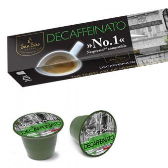 Café SanSiro DECAFFEINATO - 10 capsules