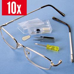Brillen-Reparatur-Set 10tlg