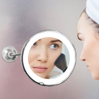 Miroir rétroéclairé avec grossissement x10