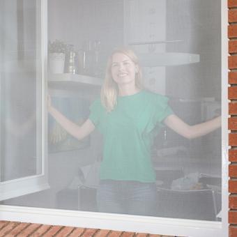 Magnetisches Moskitonetz Screentastic  PRO für Fenster