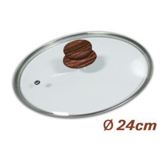 Copper & Stone Glasdeckel 24 cm