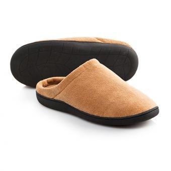 Stepluxe Slippers, Gel Comfort, braun
