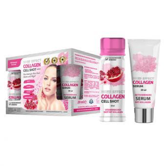 Collagen Cell Shot 6er Pack (je 60 ml) mit Serum (20 ml)