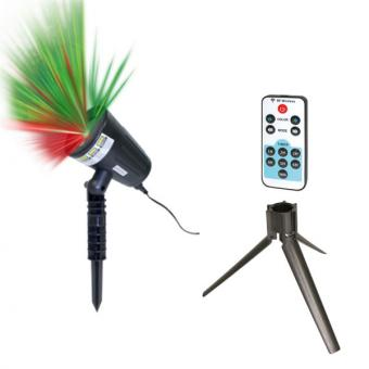 Starlyf Motion Laser Lights Set - inkl. Fernbedienung und Stativ