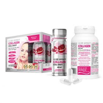 Set: MediCap Collagen Cell Cap & 6 MediCap Collagen Shots