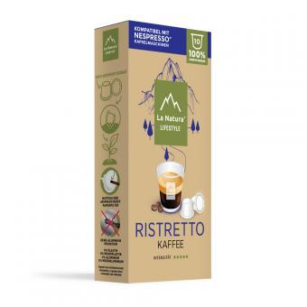 La Natura Ristretto - 10 capsules de café NES