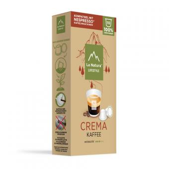 La Natura Crema - 10 capsules de café NES