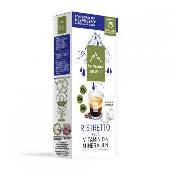 La Natura Ristretto Plus - 10 capsules de café NES