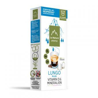 La Natura Lungo Plus - 10 Kaffeekapseln NES