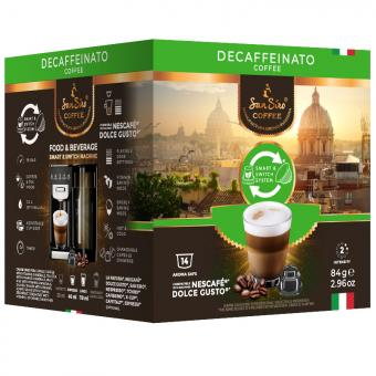 SanSiro Decaffeinato 14 capsules de café DG-Box
