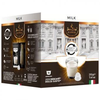 SanSiro Milk 14 capsules de lait DG-Box