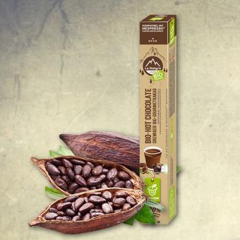 La Natura Bio-Hot Chocolate - 10 Kapseln NES
