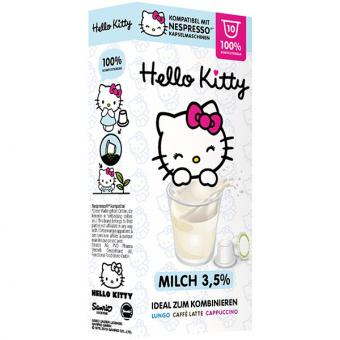 out-Hello Kitty Milch - 10 Milchkapseln NES