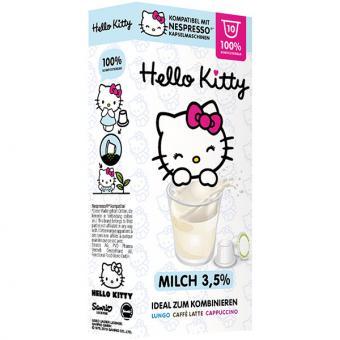 out - Hello Kitty Milch - 10 Milchkapseln NES