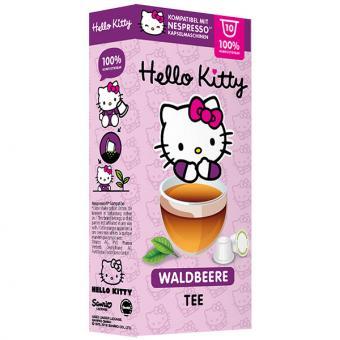 Hello Kitty Waldbeere Tee - 10 Teekapseln NES