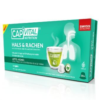 CapVital Gorge & Pharynx - Pomme-miel - 10 capsules