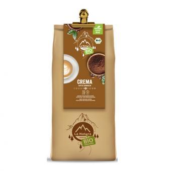 La Natura Lifestyle BIO Kaffee Crema 500g, gemahlen