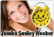 Jumbo Smiley Wecker