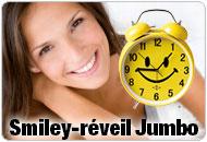 Smiley-réveil Jumbo